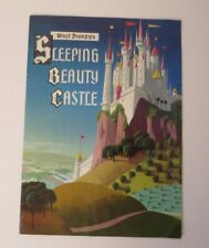 1957 Disneyland Walt Disney's Sleeping Beauty Castle Fold-Out Book Booklet
