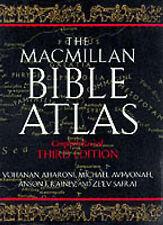 NEW The Macmillan Bible Atlas by Yohanan Aharoni