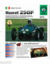 Old F1 FORMULA ONE RACE CAR / RACING BROCHURES IMP Collection