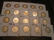 1968 to 1998 PROOF Washington Quarters set/collection