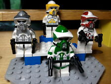 Lego Star Wars Arf Scout Commanders Ponds, Gree, Cody, Fives Clone Troopers
