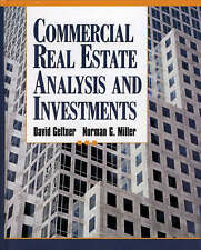 Very Good, Commercial Real Estate: Analysis and Investments, Miller, Norman G.,