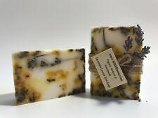 Soap Christmas Organic Natural Gift Set Lavender Rose Coffee Love Soap