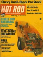 BRAND NEW Hot Rod November 1971 Pro Stock Chevy Mustang funny car NHRA NASCAR