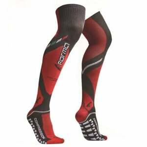 Forma Adults Motocross MX Enduro Motor Bike Long Compression Knee Brace Socks