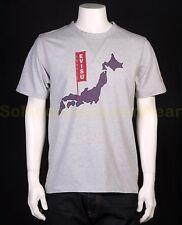 EVISU t-shirt XL grijs NIEUW+LABELS np:€90