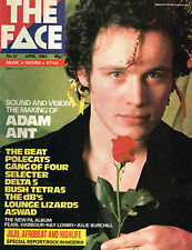 THE FACE #12 April 1981 ADAM ANT COVER Fela Kuti THE POLECATS Hedy Lamarr @EXCLT