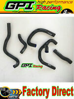 Silicone Radiator Hose fit Suzuki RGV 250 All Years black NEW
