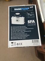 Saniflo Saniplus Up Macerator Pump 6003 Wash Basin, Shower, Power Shower, Bidet