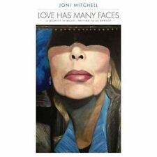 Joni Mitchell Love Has Many Faces 4 X CD Long Book Set 2014 MINT