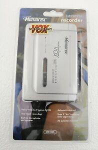 Memorex MB1055 Voice Activated Cassette Recorder Built-In Speaker New -Open Box