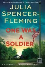 Julia Spencer-Fleming - One Was a Soldier - NEW 1st edition
