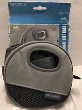 Sony Walkman CD Walman Belt Case For Atrac Models Removable Belt Strap Mobile