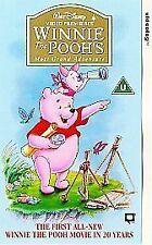 Winnie the Pooh VHS Films