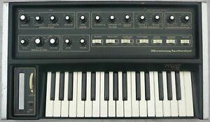 Moog Micromoog synthesizer.