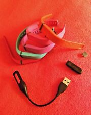 Fitbit Flex Wireless Activity and Sleep Tracker, Charger + 5 Colored Wristbands