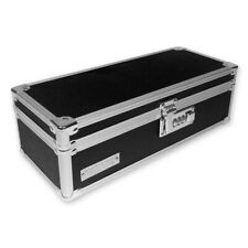 Vaultz Locking Medicine Storage Box, 3.75 x 11.88 x 5.25 inches, Black (VZ03480)