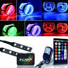 18-Color Devil Demon Eyes LED Strips Module For Projector Headlights Retrofit
