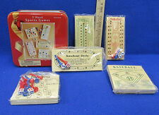 Nos 5 In 1 Wood Sports Games w/ Instructions Made For Dayton Hudson In China
