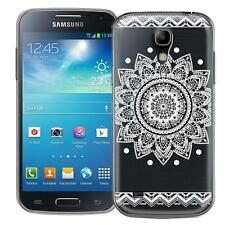 Protective Case Samsung Galaxy S4 Mini Silicone Phone Mandala Sleeve Cover