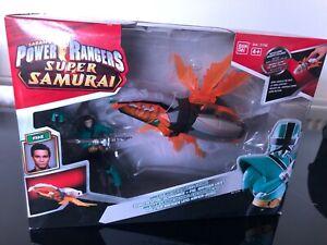 Power Ranger Super Samurai Crystal Beetle and Green ranger Very rare version NEW