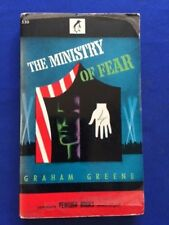 THE MINISTRY OF FEAR - 2ND. PRINTING OF AMERICAN PAPERBACK ED. BY GRAHAM GREENE