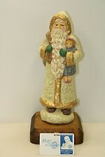 """Midwest of Cannon Falls Santa Clause Resin Figurine 12"""" tall"""