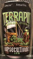 TERRAPIN BEER CO ~ HOPSECUTIONER IPA ~ TURTLE w/ GUILLOTINE Can Beer Tacker Sign