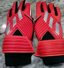 DY2688 Adidas Nemeziz Training Goalkeeper Gloves GK Soccer Football Red Size 5