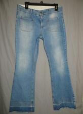 STELLA MCCARTNEY DISTRESSED WASH JEANS LOW RISE SIZE 30