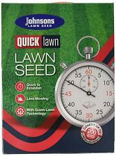Johnsons Lawn Seed Quick Lawn 1.5kg Box Home Garden