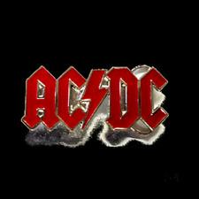 AC/DC LOGO - BELT BUCKLE - BRAND NEW - HEAVY DUTY MUSIC BBACD02