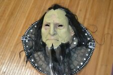 HALLOWEEN MASK CUSTOM LARGE Orge Warlock Monster NEW VISION MARIO CHIODO Neck
