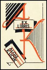 Rytir Vaclav 1933 Exlibris Bookplate 95
