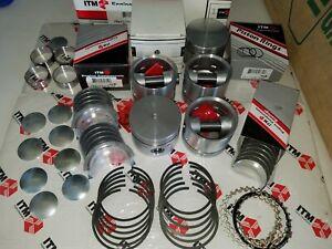 Volvo 164 & AQ170 69-73 Eng. Kit, Pistons,Rings,Cam,Rod,Main Bearings,Gaskets