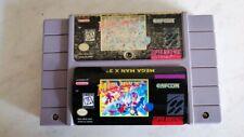 Mega Man X3 (Super Nintendo Entertainment System) SNES Authentic Game! New Label