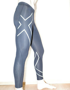 2XU Australia Compression Tights Leggings Gym Run Walk Hike Size Small VGC
