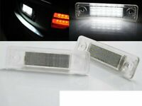 Pair of LED Licence Plate Lights for Opel CORSA OMEGA VECTRA ZAFIRA CA PROP03 XI