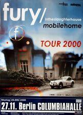 FURY IN THE SLAUGHTERHOUSE - 2000 - Konzertplakat - Mobile Home - Tourposter - B