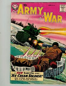 DC OUR ARMY AT WAR #85 ICE CREAM SOLDIER ISSUE NEW SGT ROCK EASY CO. AUG 1959