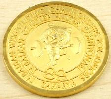Turkey Sakarya 1988 Balkan Weightlifting Championship Juniors Medal 55mm