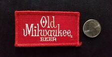 OLD MILWAUKEE Beer BIKER HOTROD GREASER Collectors Patch