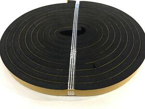 Streifen aus Moosgummi Zellkautschuk EPDM selbstklebend div.Abmessungen / Längen