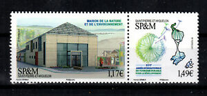 SPM  SAINT-PIERRE MIQUELON NEW 2017   (MAISON DE LA NATURE)  MINT NH (1703093)