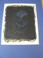 Skull att. Karl Schrag Very Rare Monoprint Large Print with Stanley Hayter!