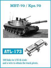 Friulmodel 1/35 German MBT-70 / Kpz.70 Metal Tracks (160 links)