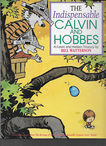 The Indispensable Calvin and Hobbes Treasury by Bill Watterson 1992 HC 1st Ed