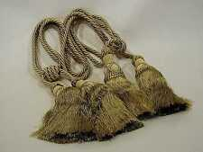 Pair, Curtain/Chair/Tapestry Double Tassels