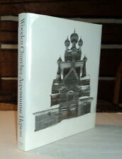 WOODEN CHURCHES: TRAVELLING IN THE RUSSIAN NORTH by RICHARD DAVIES rare 2011 1ST