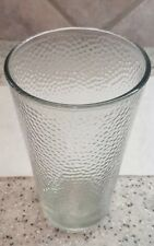 Pint Beer Glass Bubbled Rippled Interior VINTAGE LIBBEY USA 16 Fl. Oz